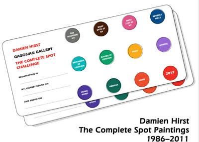 Damien Hirst Challenge, carte