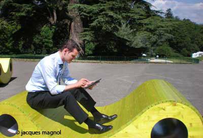 wifi au parc La Grange