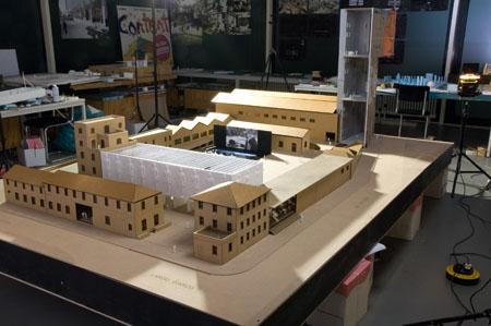 Fondation Prada Milan, maquette
