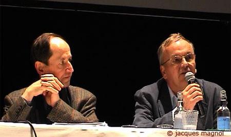 Pierre-Michel Menger et André Ducret