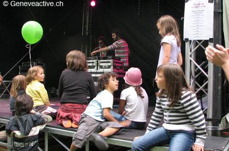 scène fête de la musique