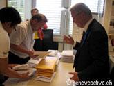remise des signatures