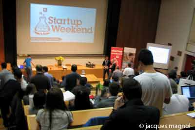 conference startup